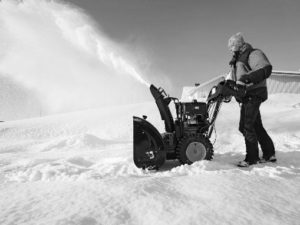 Бизнес уборка снега