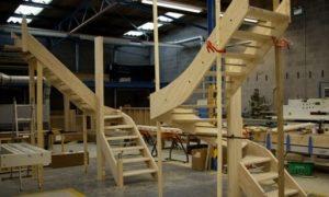 Деревянные лестницы как бизнес