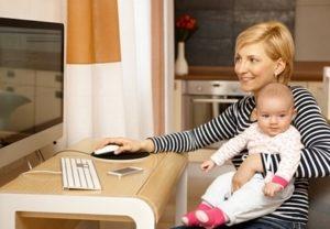 Заработки для мам в декрете, пути и способы